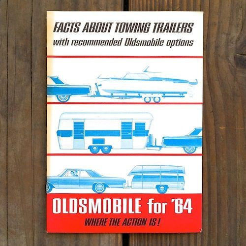 FACTS ABOUT TOWING TRAILERS Brochure Booklet 1964