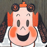 KLEENEX LITTLE LULU Face Mask HALLOWEEN 1940s