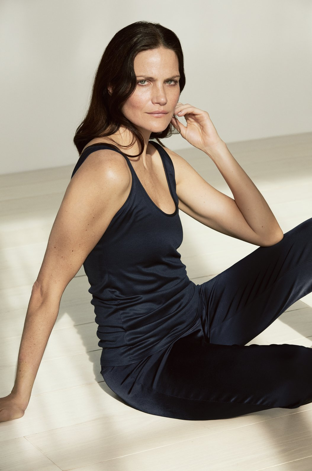 ROYL NYC | Luxury loungewear - STRETCH SILK CAMISOLE TANK | ROYL