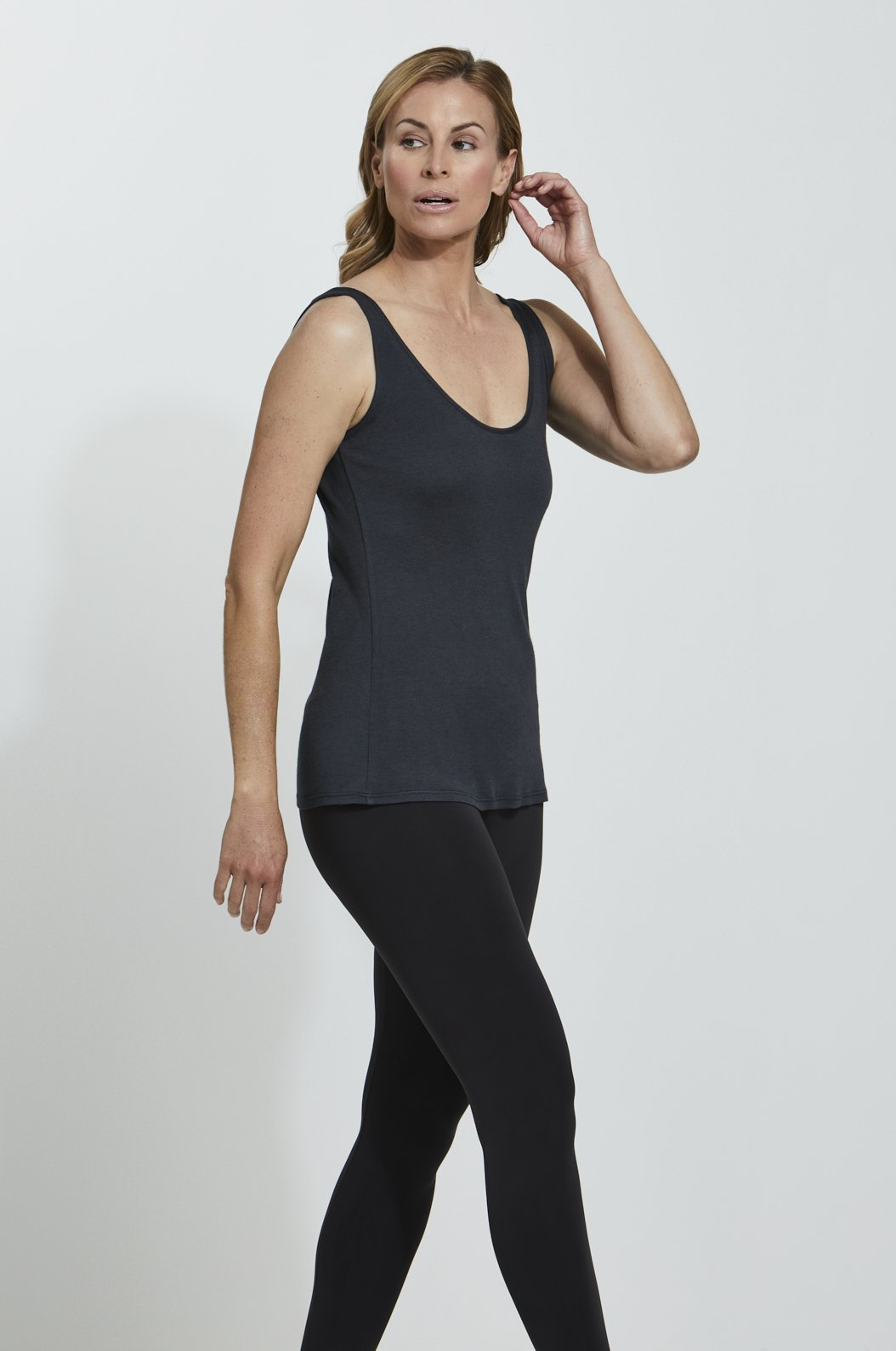 Luxury loungewear - LIGHTWEIGHT CASHMERE BLEND CAMISOLE TANK