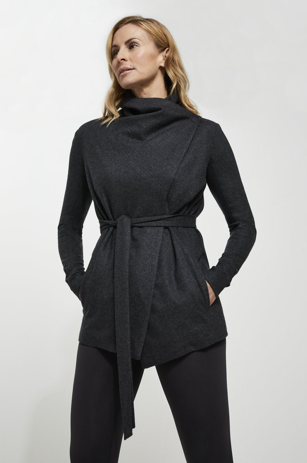 ROYL NYC | Luxury loungewear - ITALIAN CASHMERE WRAP JACKET | ROYL