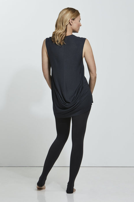 ROYL LIGHTWEIGHT CASHMERE BLEND DRAPED BACK T