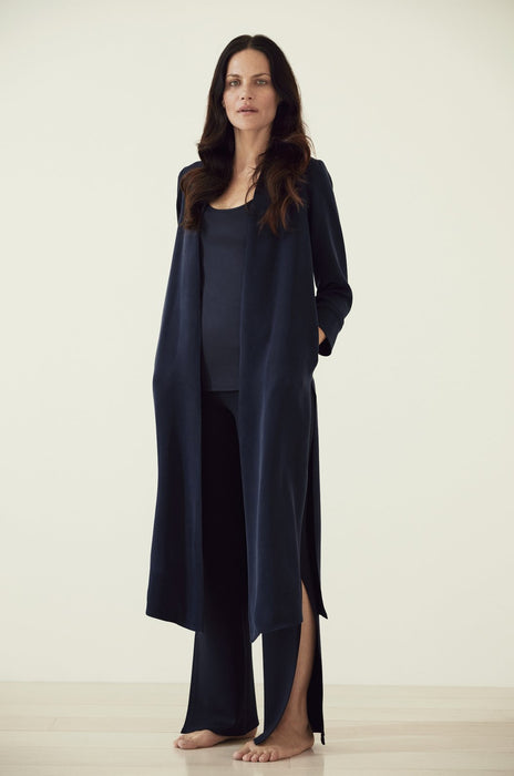 Luxury loungewear - LUXE CREPE SILK DUSTER | ROYL