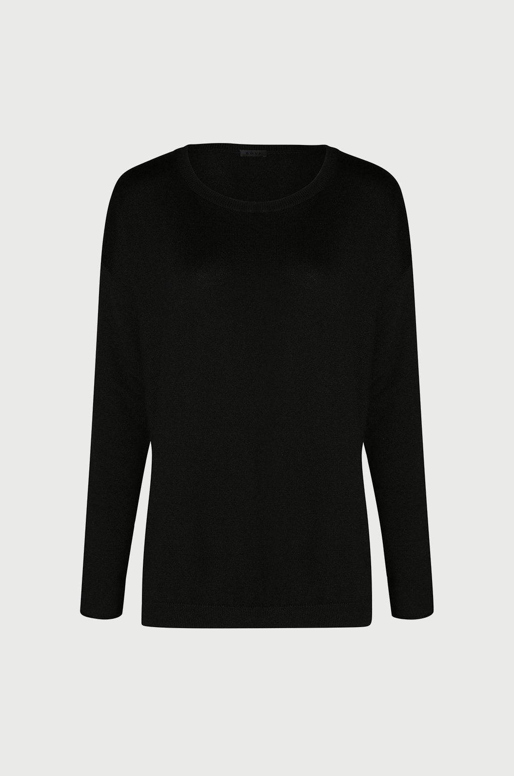 Luxury loungewear - ULTRA CASHMERE CREW NECK SWEATER | ROYL