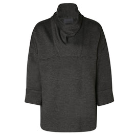 Dress in monochromatic outfits with ITALIAN CASHMERE COWLNECK PULLOVER | ROYL