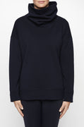 Luxury loungewear - LUXE FUNNEL NECK SWEATSHIRT