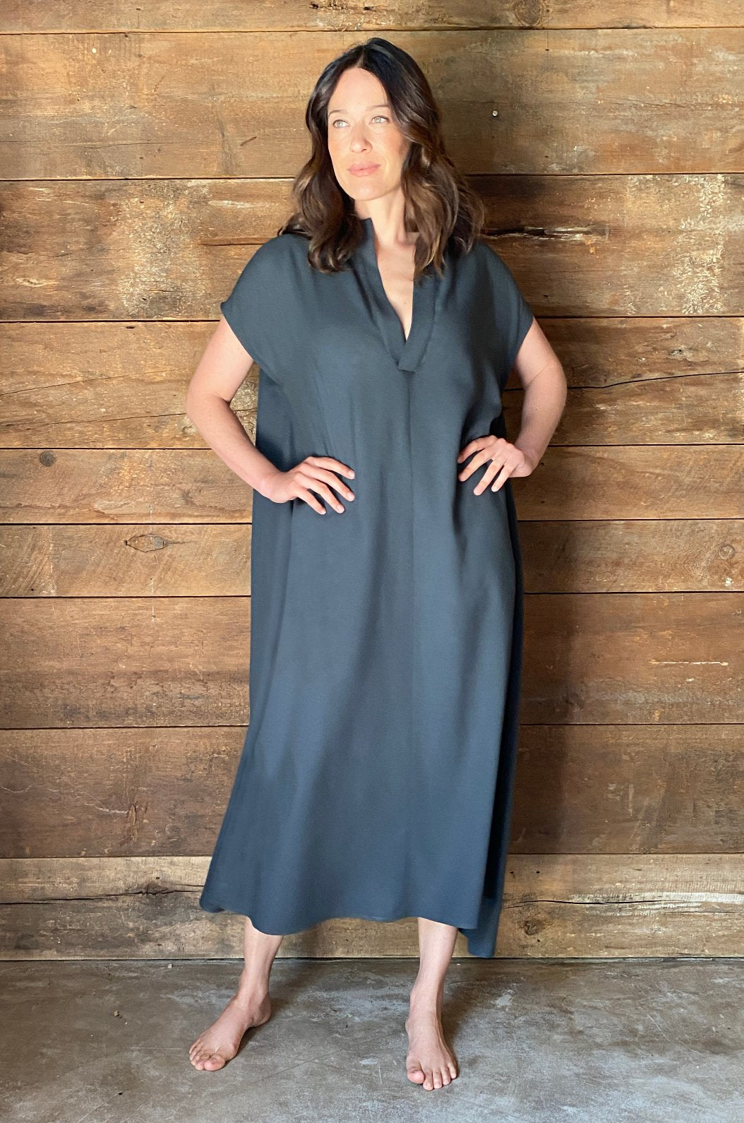 ROYL NYC | Luxury loungewear - LUXE LIGHTWEIGHT COVERUP CAFTAN | ROYL