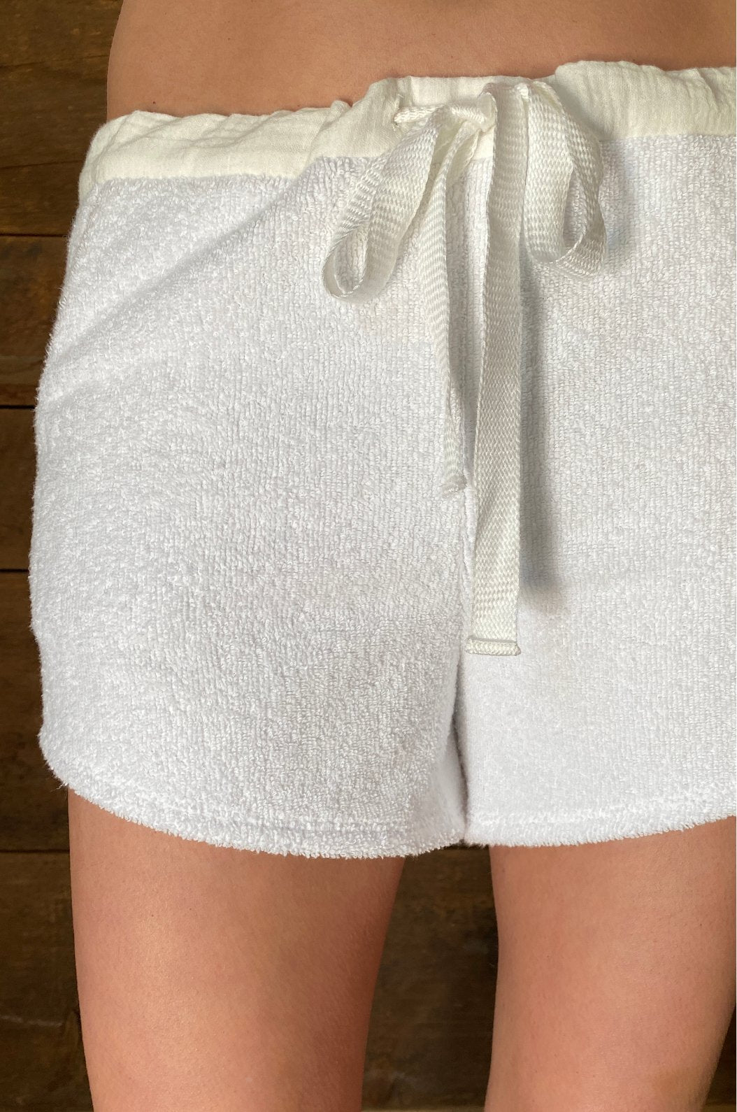 Luxury loungewear - TERRY PULL ON SHORT | ROYL