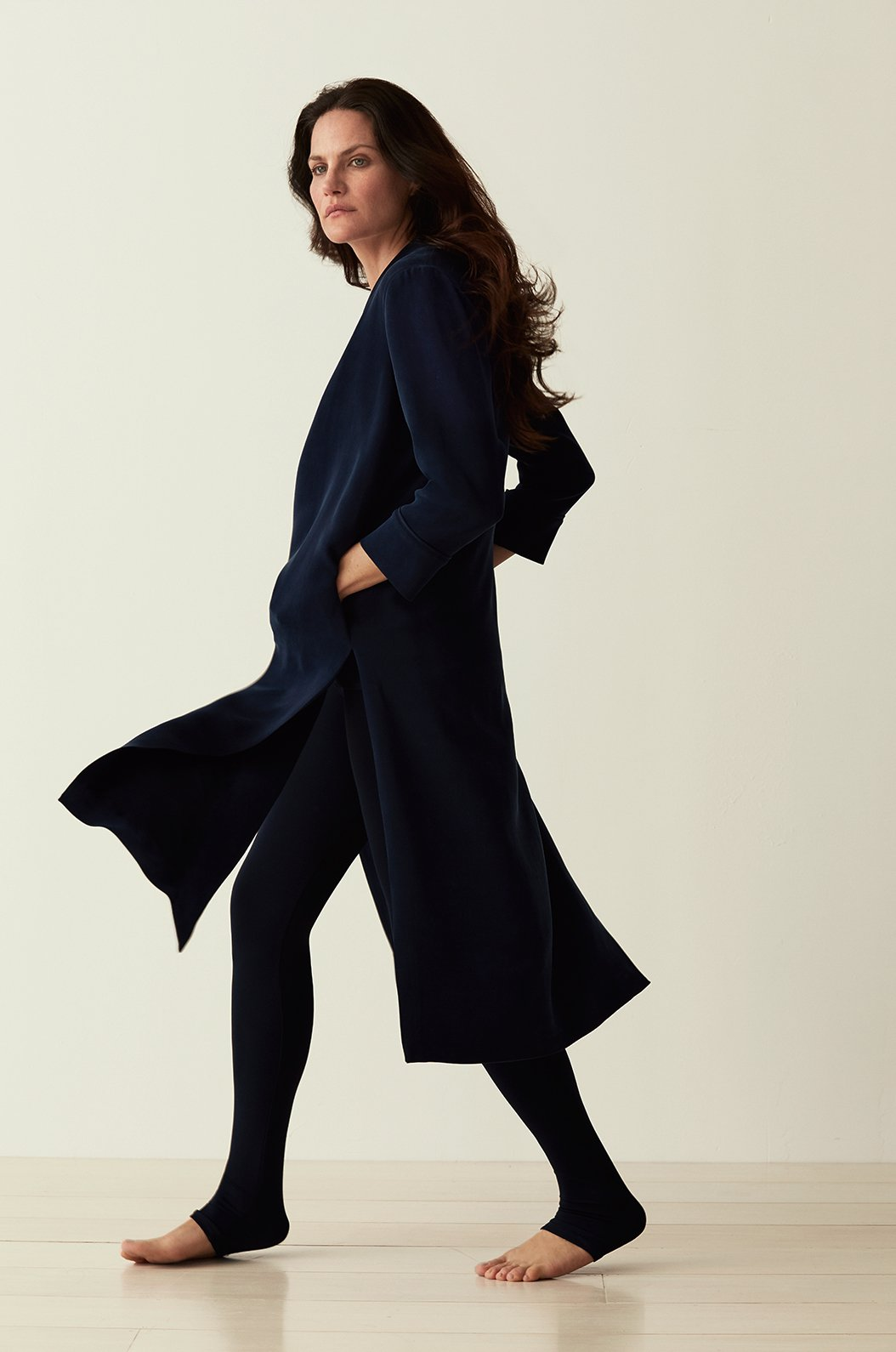 LUXE CREPE SILK DUSTER