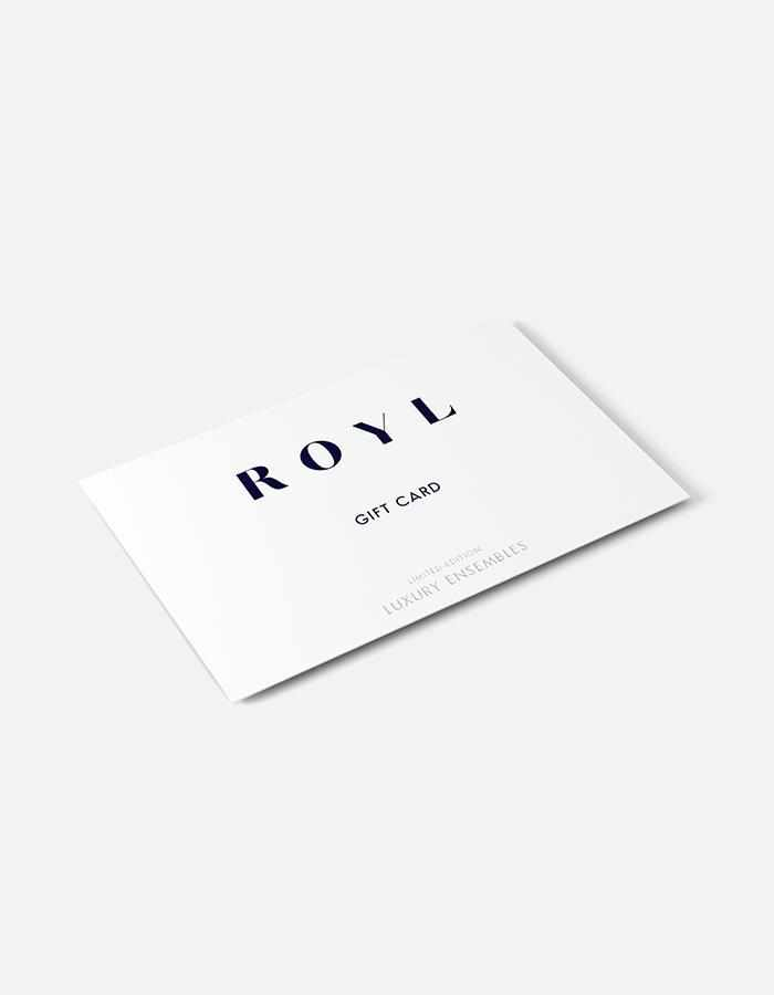 ROYL NYC | Luxury loungewear - Gift Card | ROYL
