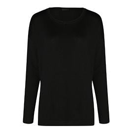 Dress in monochromatic outfits with ULTRA CASHMERE CREW NECK SWEATER | ROYL