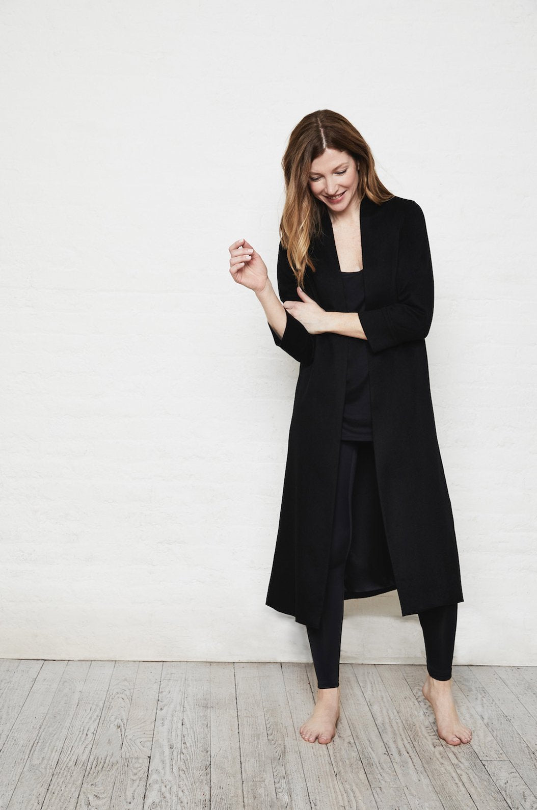 ROYL NYC | Luxury loungewear - LIGHTWEIGHT CASHMERE DUSTER | ROYL