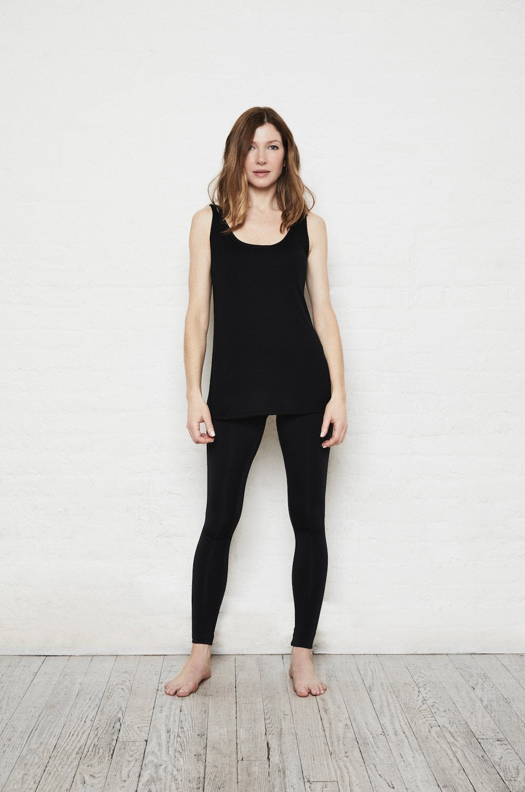 ROYL NYC | Luxury loungewear - LIGHTWEIGHT CASHMERE BLEND ELONGATED CAMISOLE TANK | ROYL