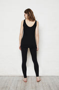 Luxury loungewear - LIGHTWEIGHT CASHMERE BLEND ELONGATED CAMISOLE TANK