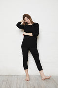 Luxury loungewear - ULTRA CASHMERE CREW NECK SWEATER