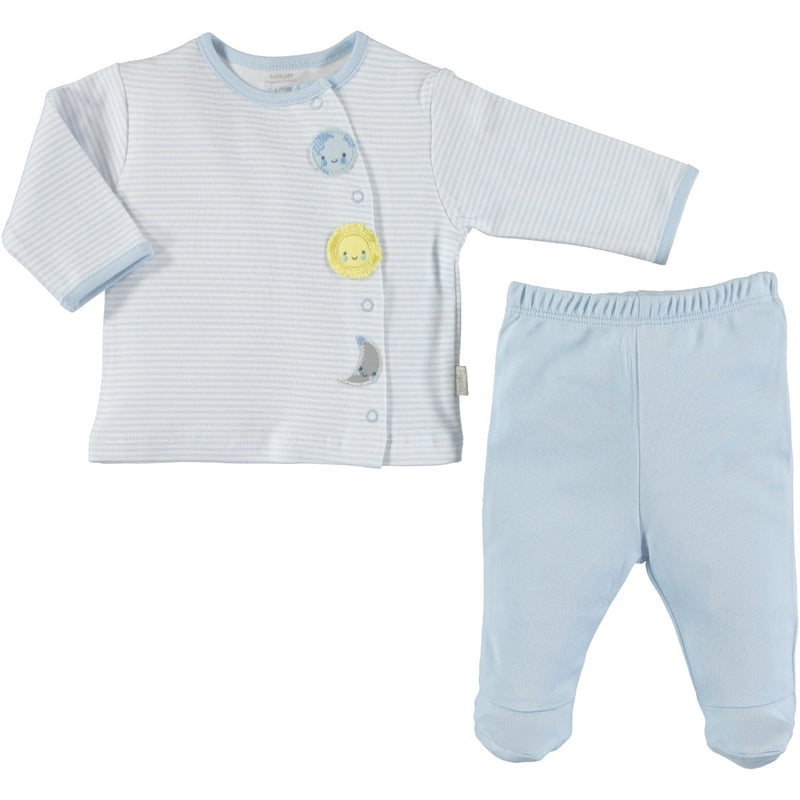 Babycenter Dreams Line Patterned 2 Piece Set for Newborn Boys
