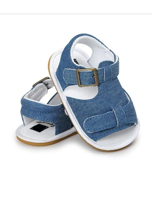 Solid Color Antiskid Pre Walker Breathable Shoes for Baby Girls & Baby Boys
