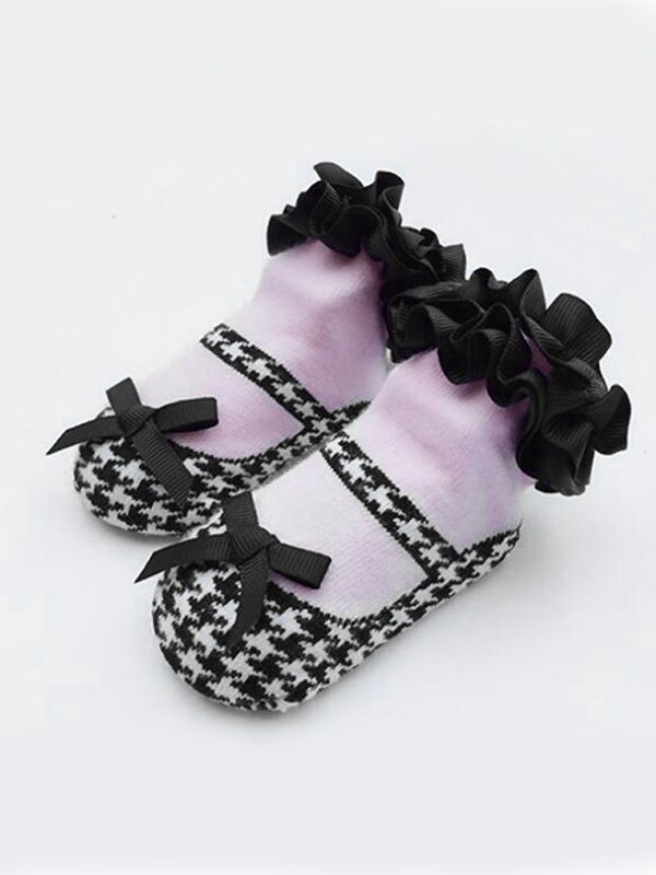 Bowknot Lacework Princess Socks for Toddler Girls