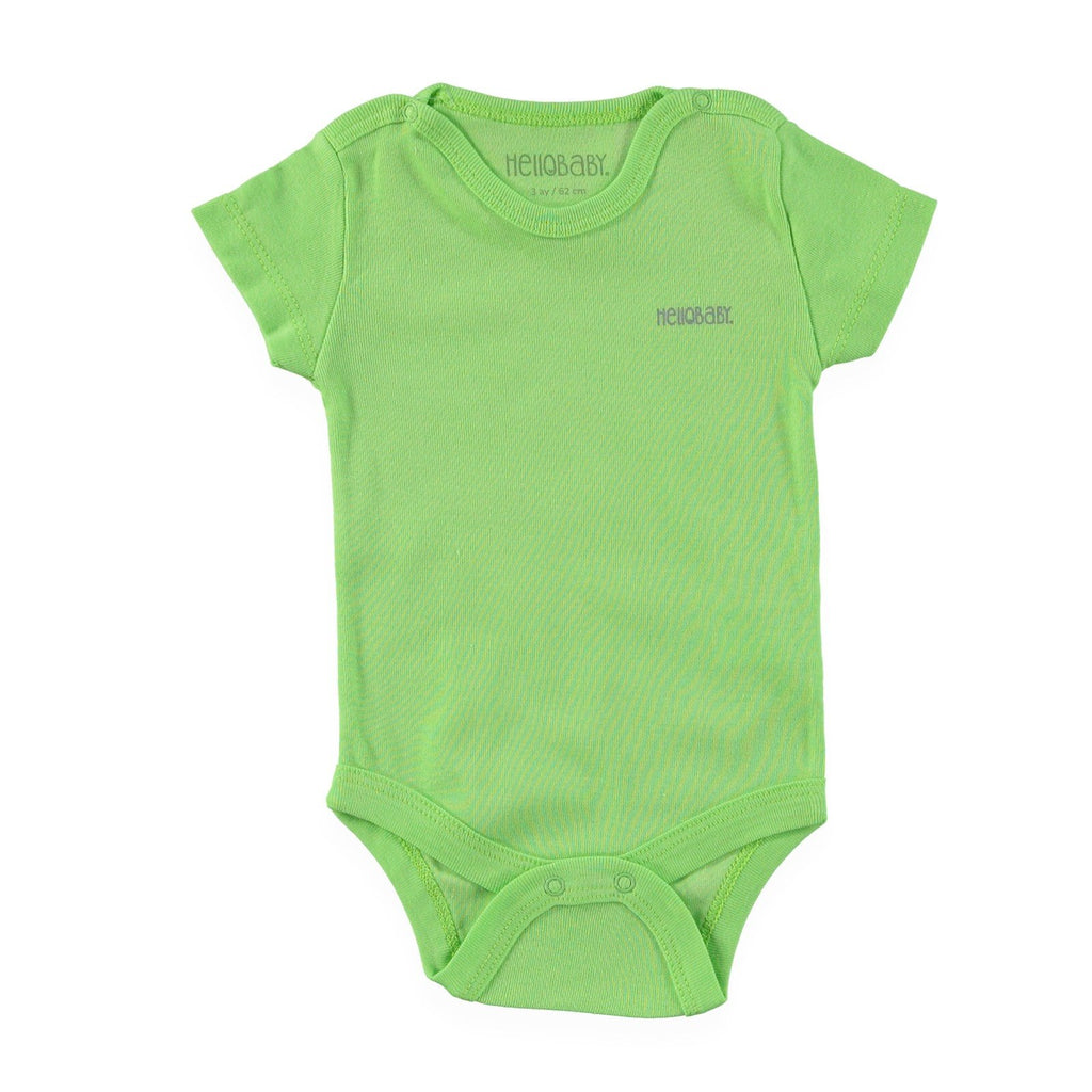 HelloBaby Short Sleve Bodysuit for Toddler Boys