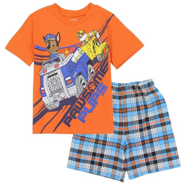 Paw Patrol 2-Piece Woven Short Set for Toddler Boys