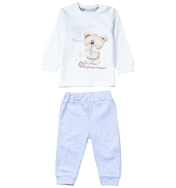Nanon Baby Little Bear Print 2 Piece Set for Baby Boys