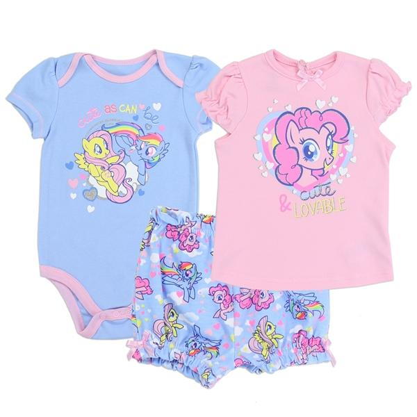 My Little Pony 3-Piece Short Set for Baby Girls
