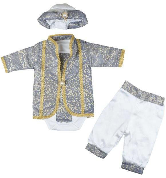 Pearly Sultan's Son 3 Piece Set for Baby Boys