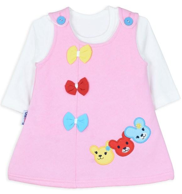 Goknes Dress with Bow for Baby Girls