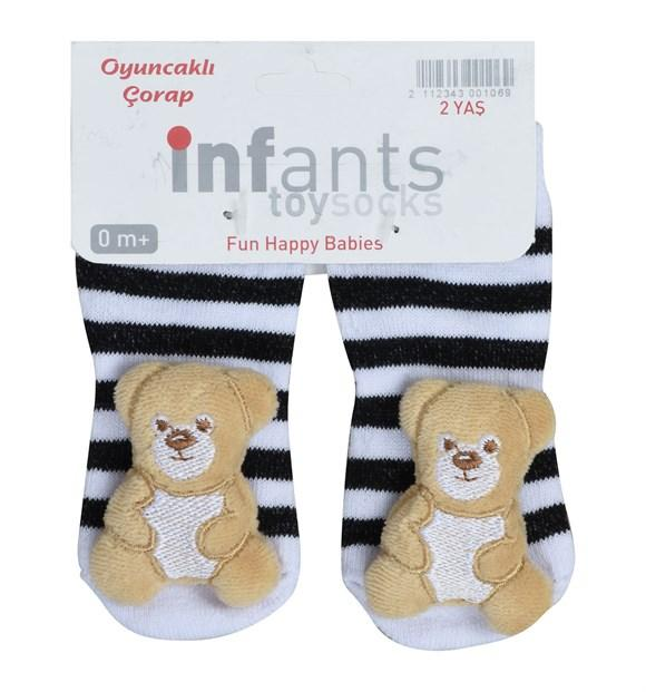 Teddy Bear Socks for Toddler Girls & Toddler Boys