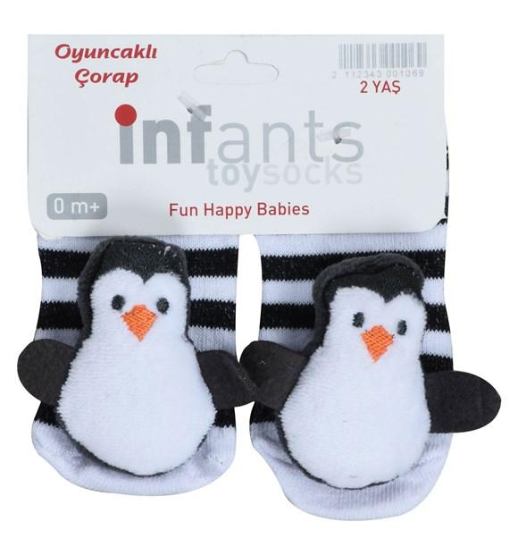 Penguin Socks for Toddler Girls & Toddler Boys