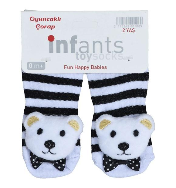 Panda Print Socks for Toddler Girls & Toddler Boys