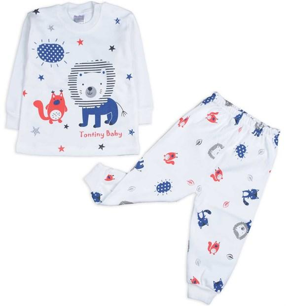 Tontiny 2 Piece Pajama Set for Baby Girls & Baby Boys