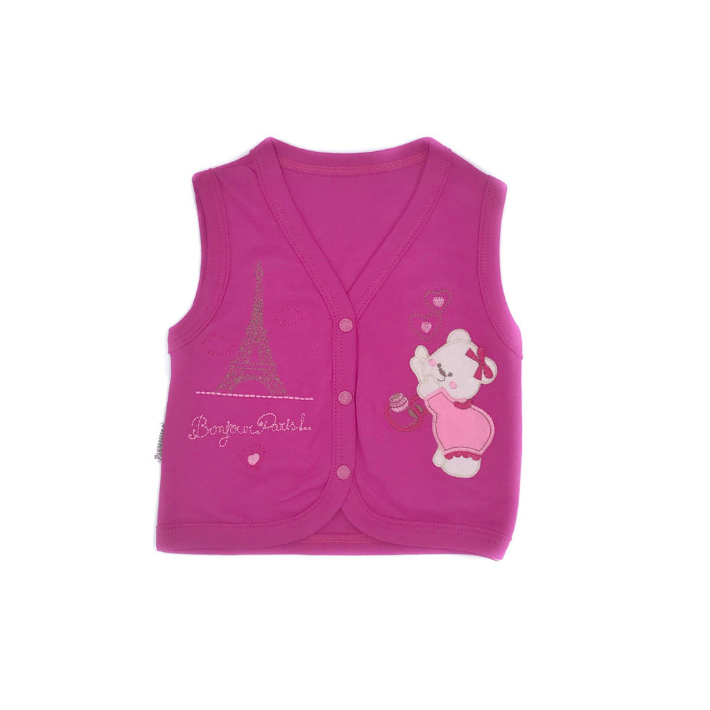 Minikel Hiosery Baby Vest for Baby Girls