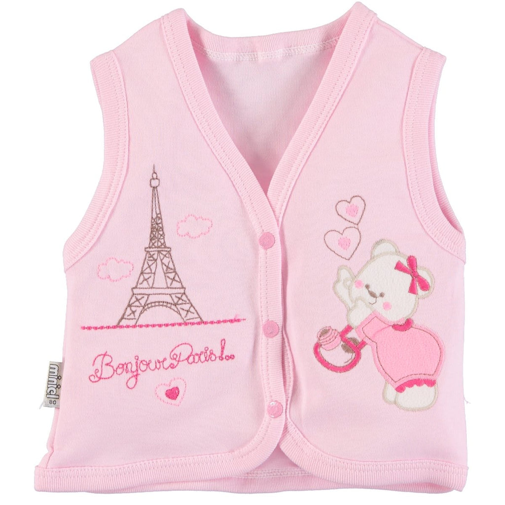 Minikel Hoisery Baby Vest for Toddler Girls
