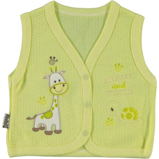 Minikel Quilted Baby Vest for Toddler Girls