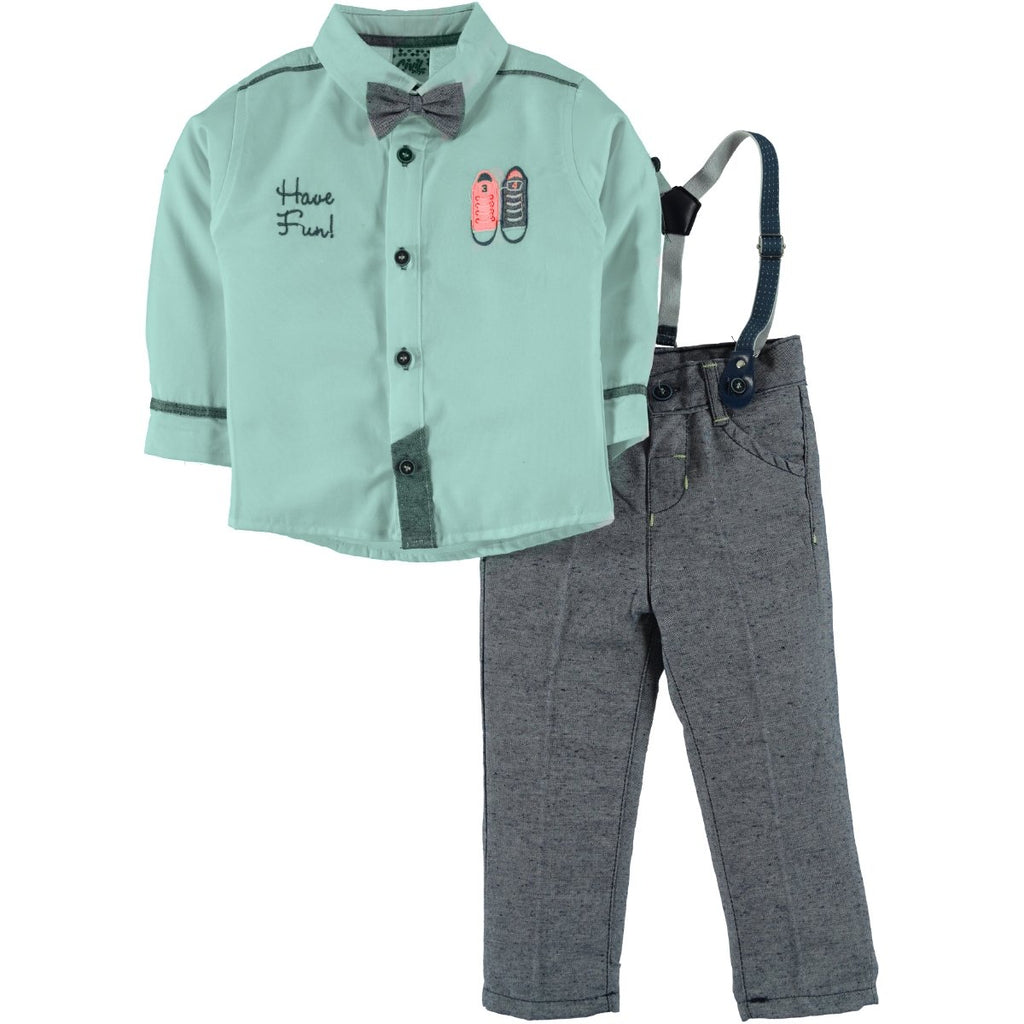 Civil Boys Shoes Embroidered Set for Toddler Boys
