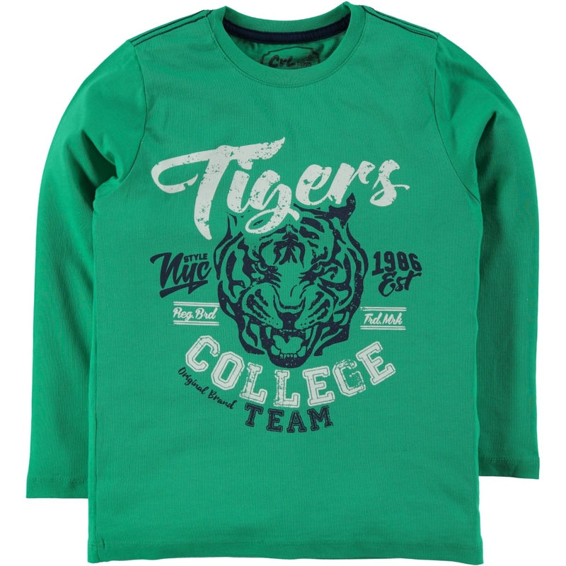 Civil Boys Tiger Embellished Long Sleeve Sweat for Boys