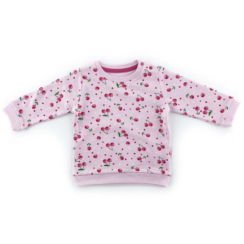 Kujju Cherry Print Top for Baby Girls