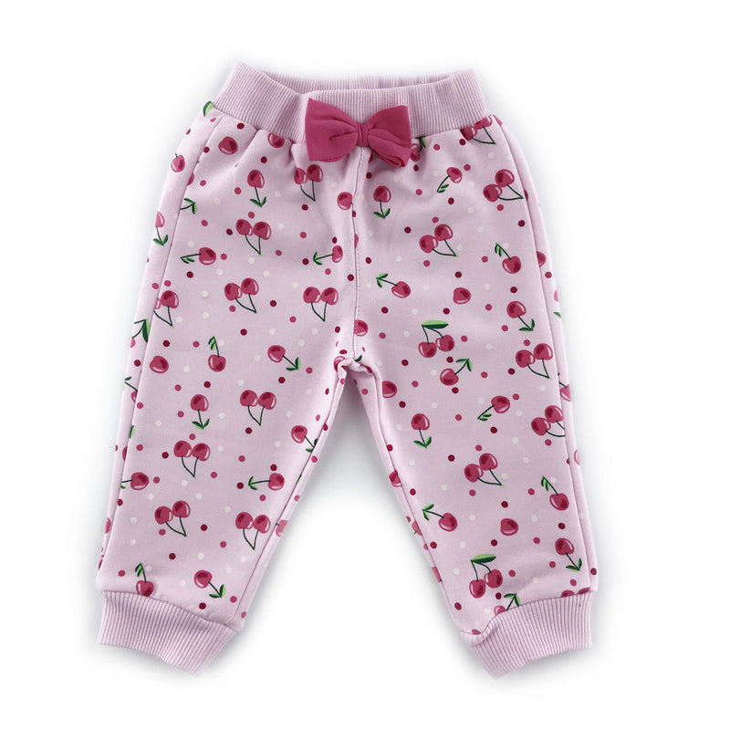 Kujju Cherry Printed Bottom for Baby Girls