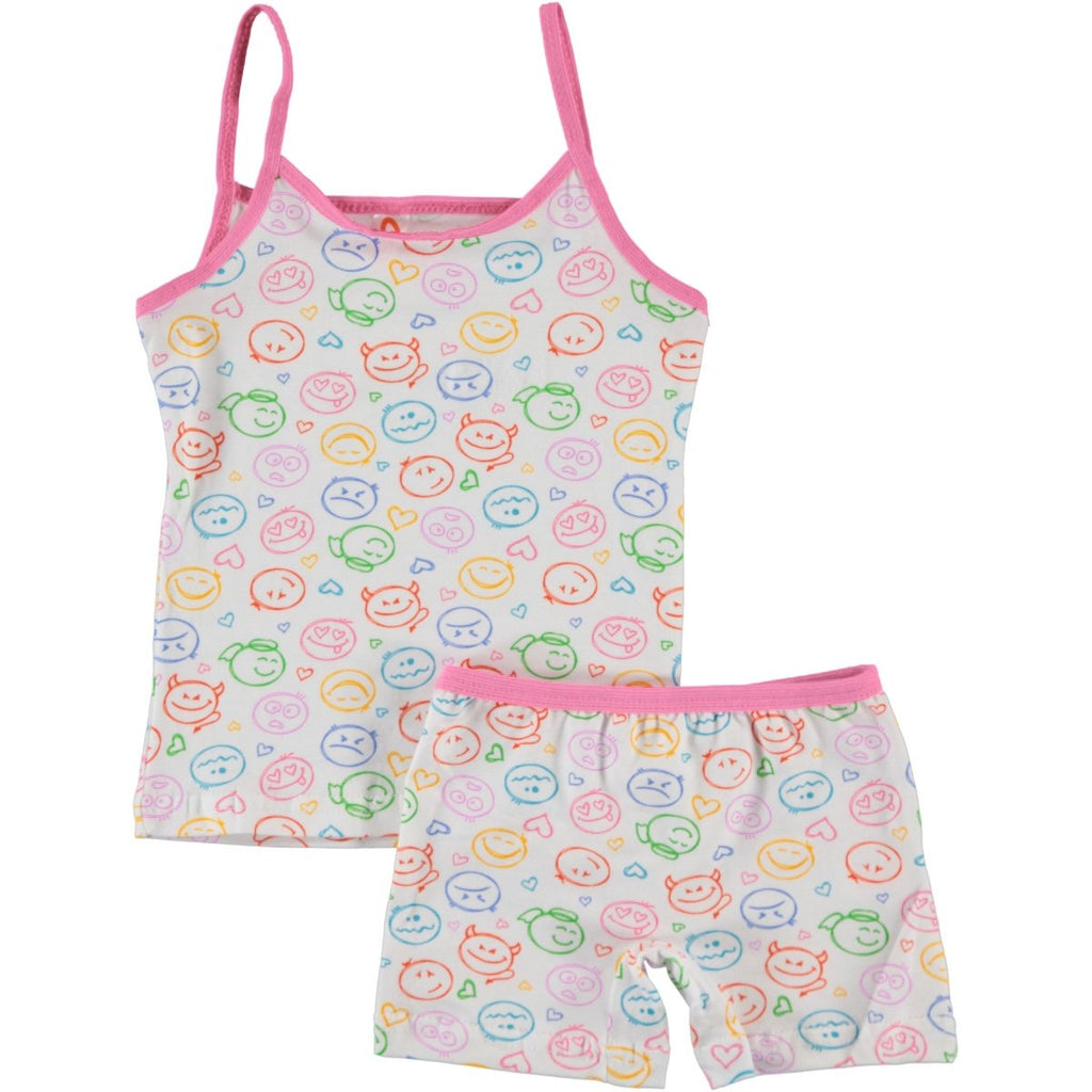 Civil Girls Faced Patterned Underwear Set for Girls