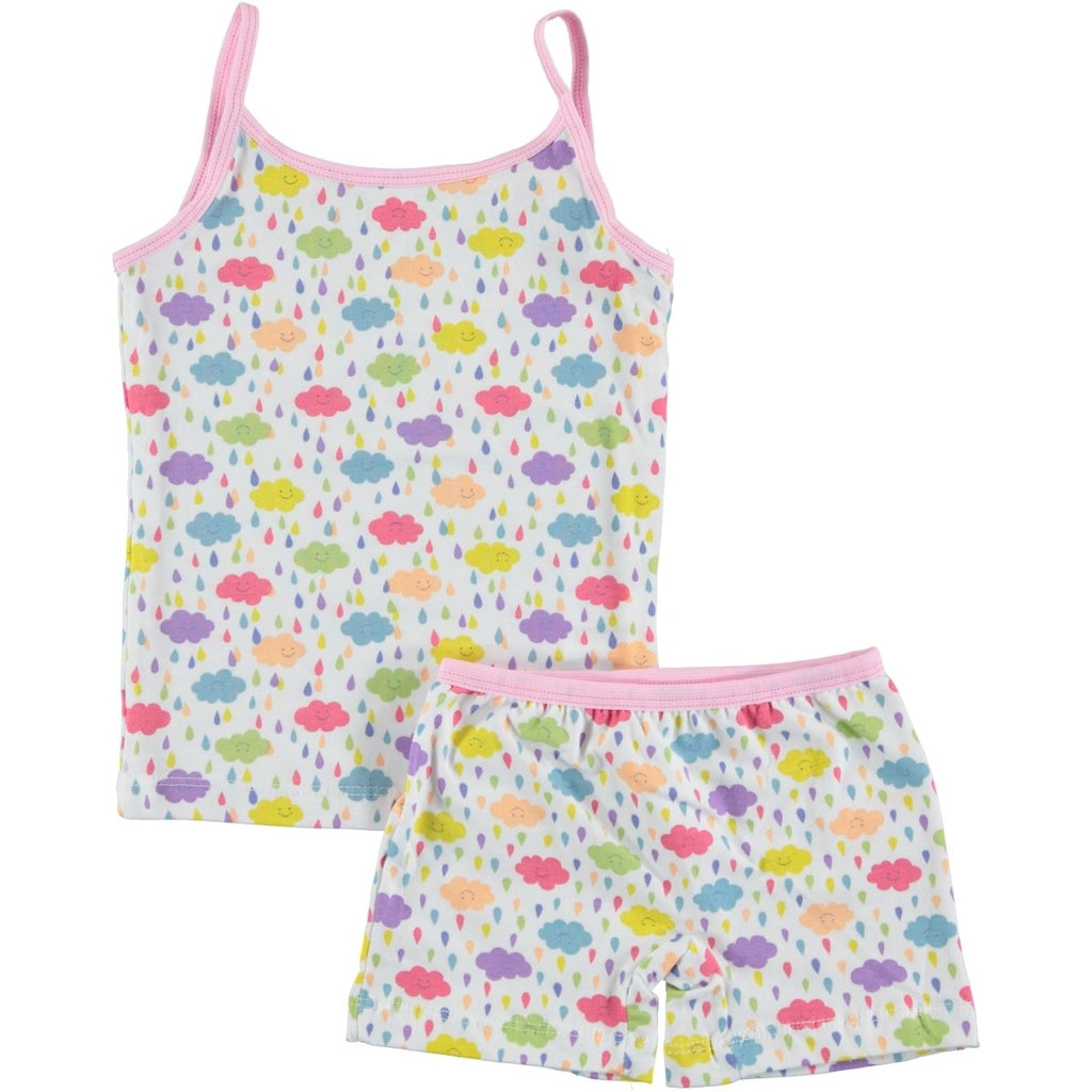 Civil Girls Cloud Patterned Underwaer Set for Girls