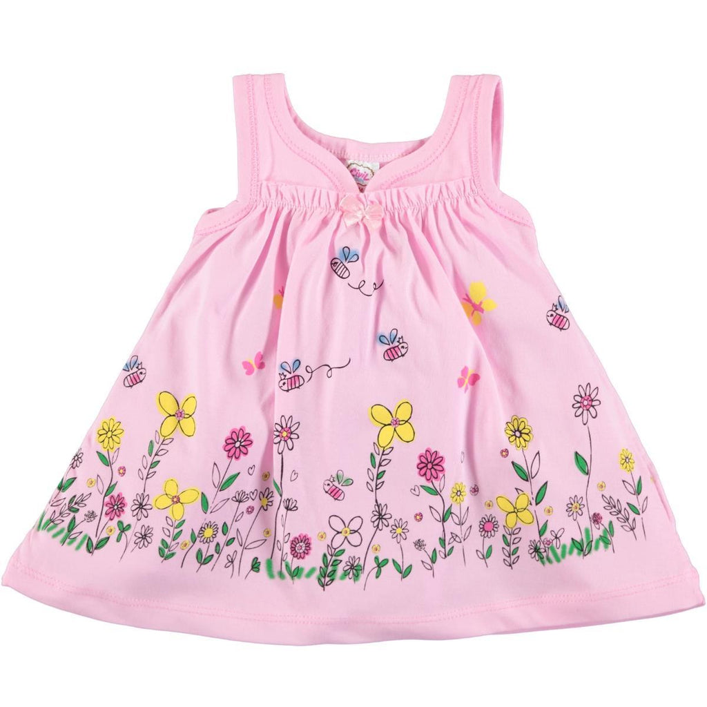 Civil Baby Bee Floral Dress for Baby Girls