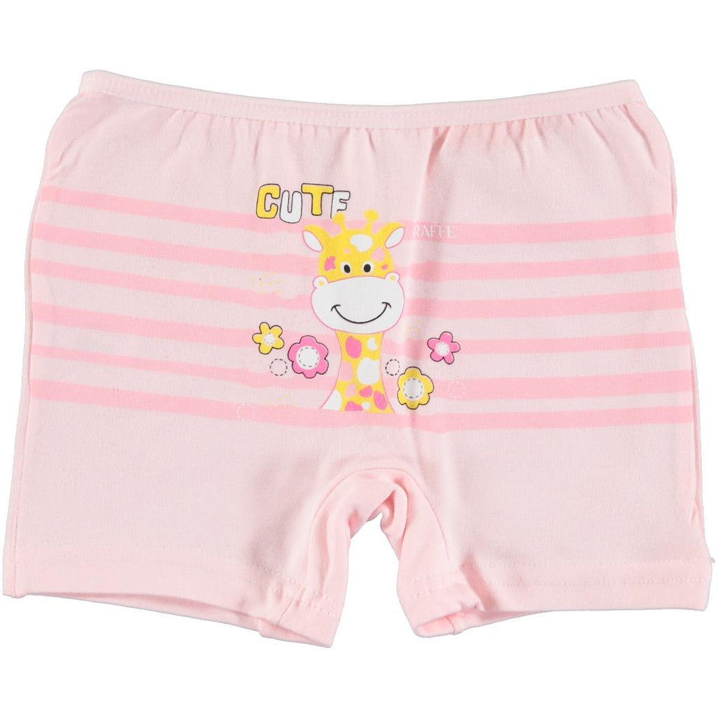 Donella Giraffe Painted Boxer for Girls