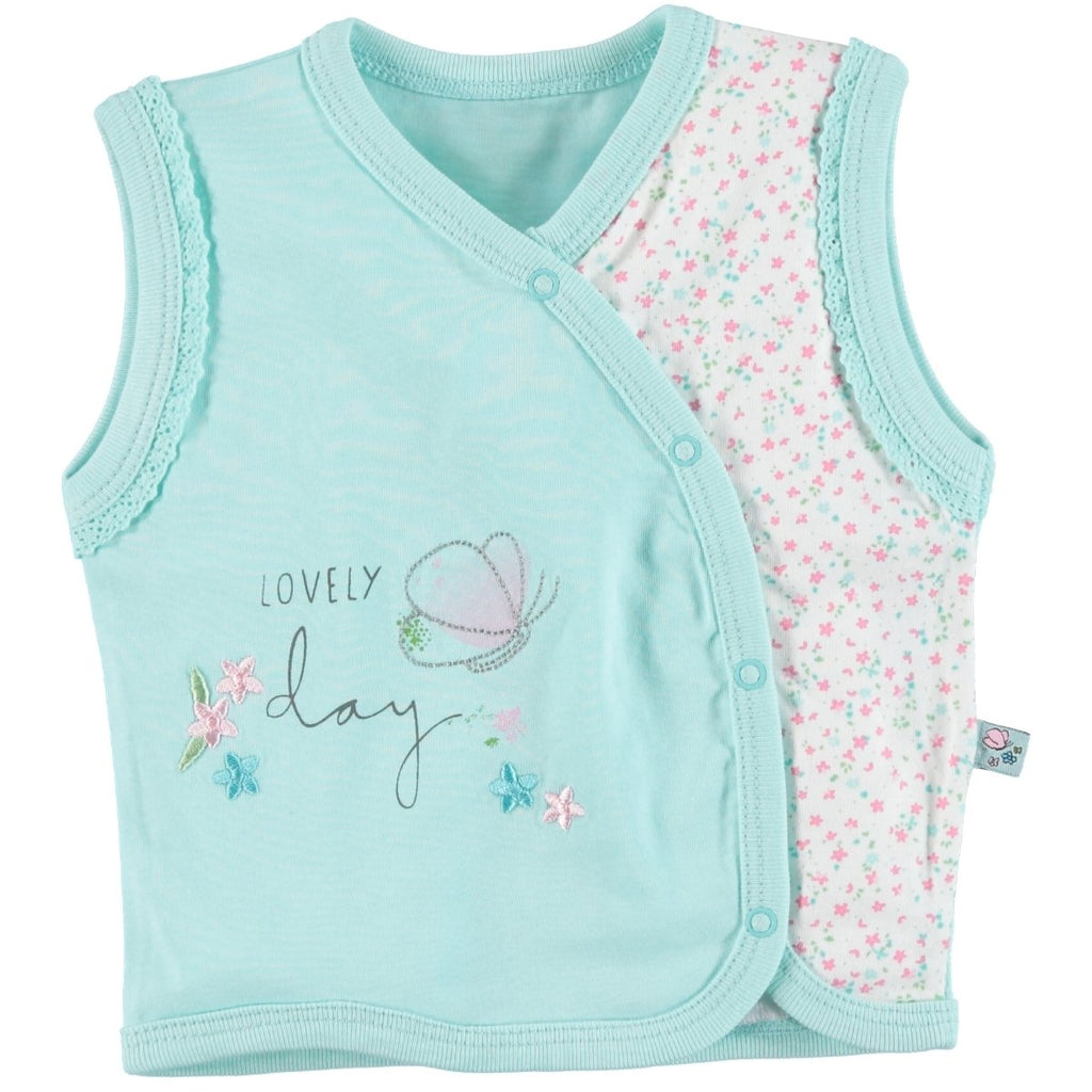 Babycool Lovely Day Printed Vest for Baby Girls