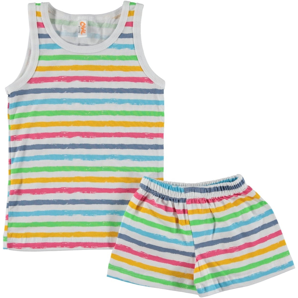 Civil Boys Colorful Striped Underwear Set For for Boys