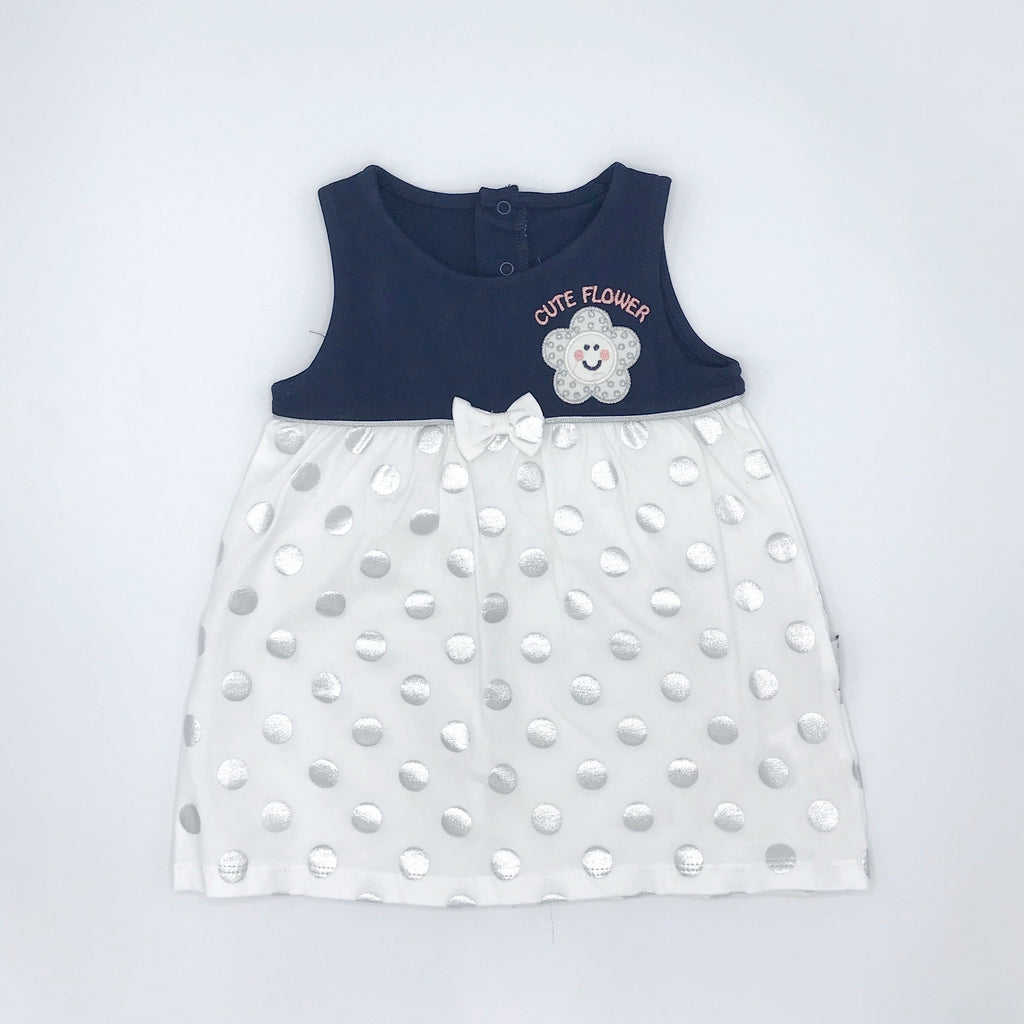 Kujju Sleeveless Dress for Baby Girls