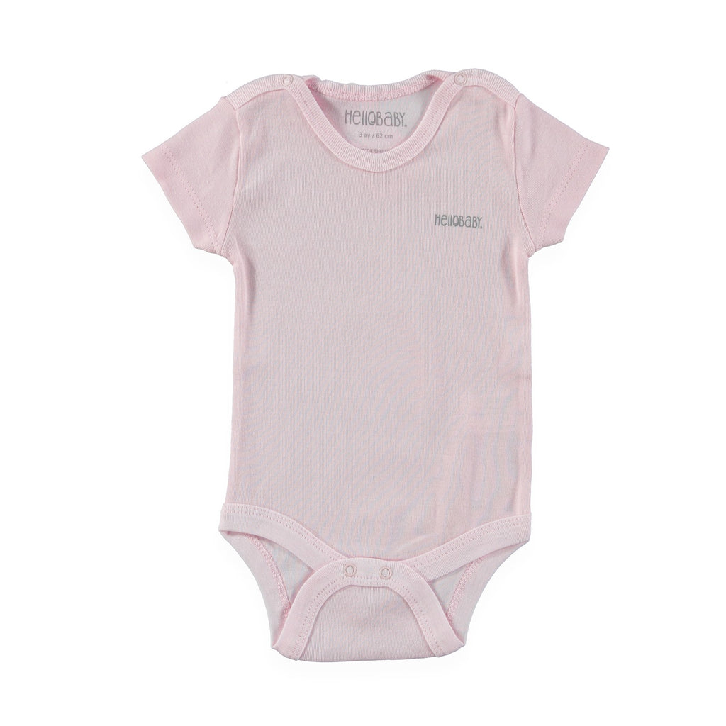 HelloBaby Short Sleve Bodysuit  for Toddler Girls - Size 3T