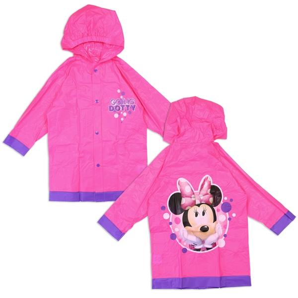 Minnie Mouse Rain Slicker for Toddler Girls