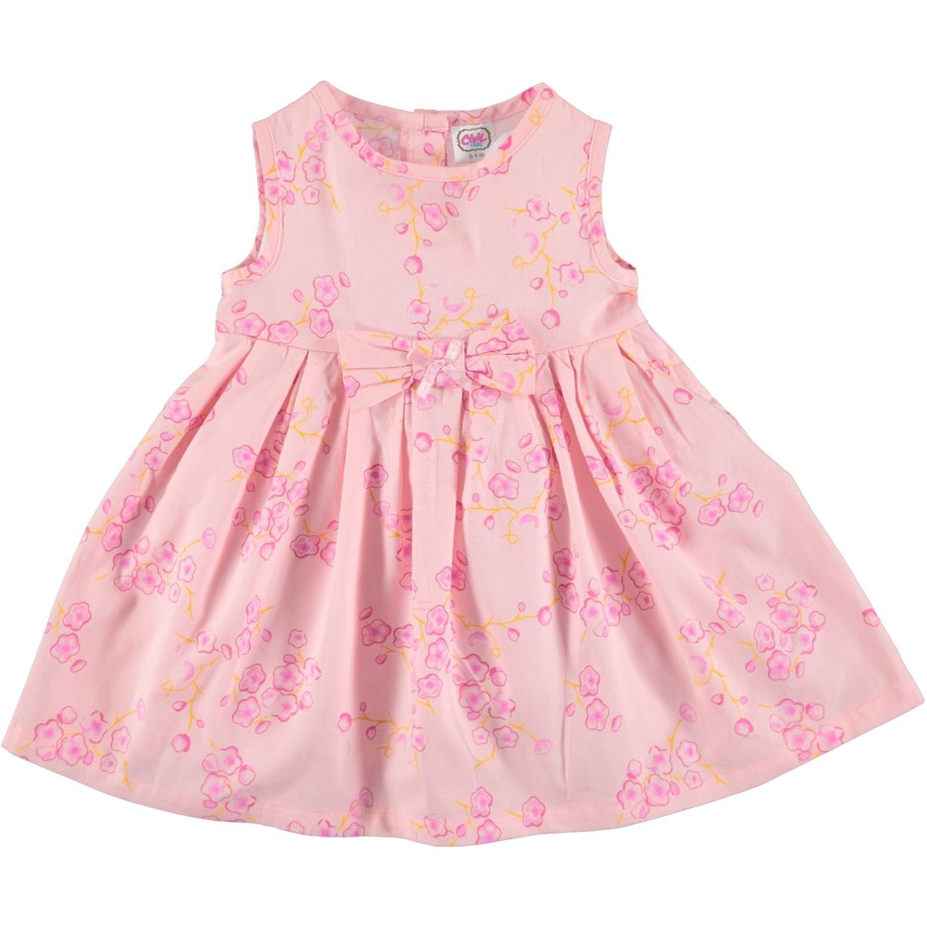 Civil Floral Patterned Dress for Baby Girls