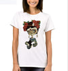 T-SHIRT FASHION SANTA LADY - WOMAN